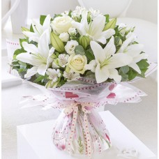 Dreamy devotion hand tied