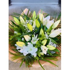 White Lily Hand Tied